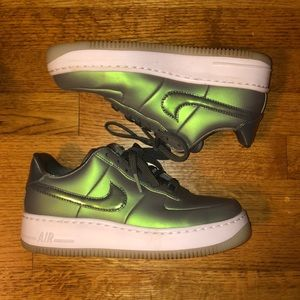 Green Nike Air Force 1